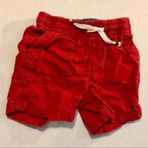 3/$10 GAP 18-24 mo 2T chino shorts rust red